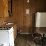 lake murvaul small cabin kitchen
